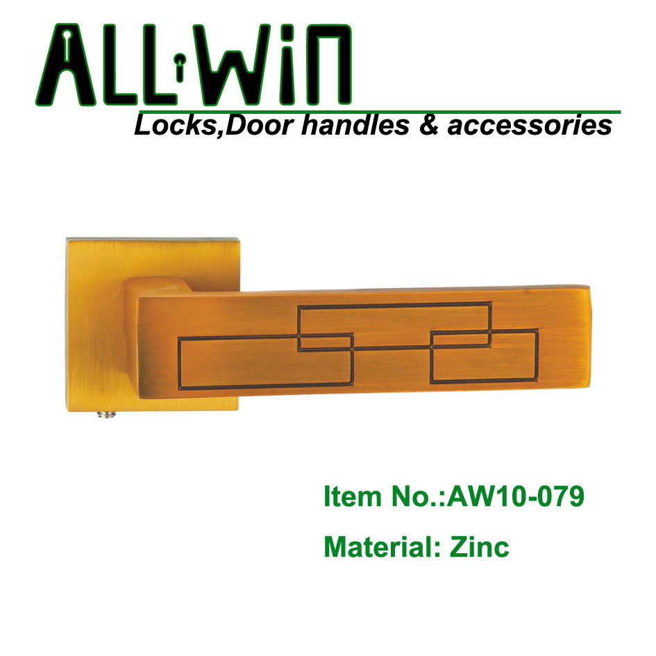 AW10-079 Chinese Modern Door Handle Manufacturer Coffee color