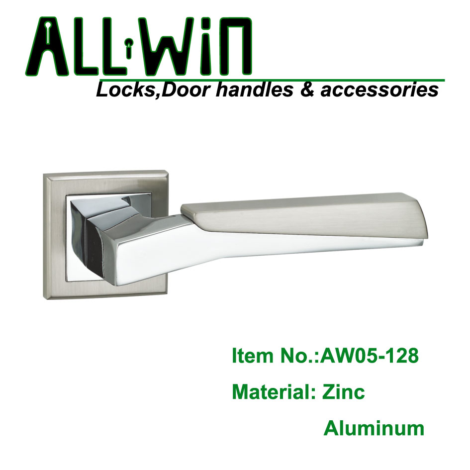 AW05-128 Quality Shower Room Door Handle Lever