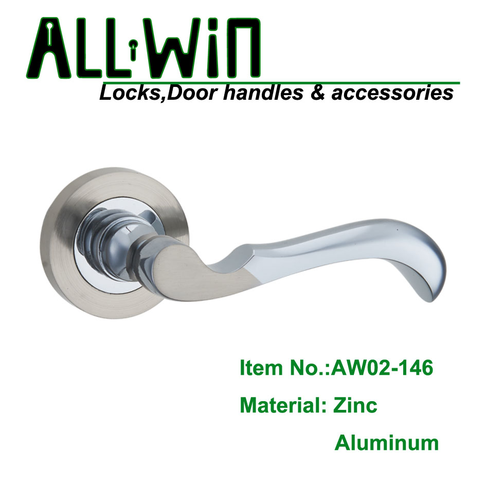 AW02-146 Best Selling Bathroom door handle lock