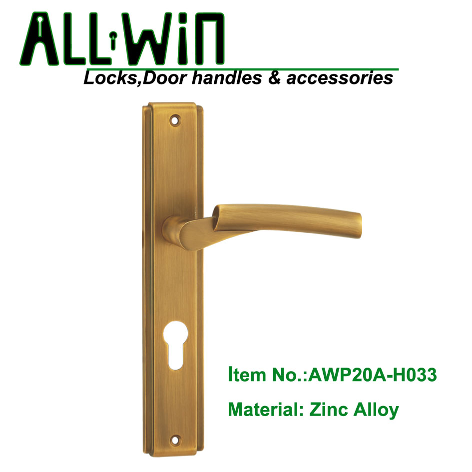 AWP20A-H033 Door Handle On Plate