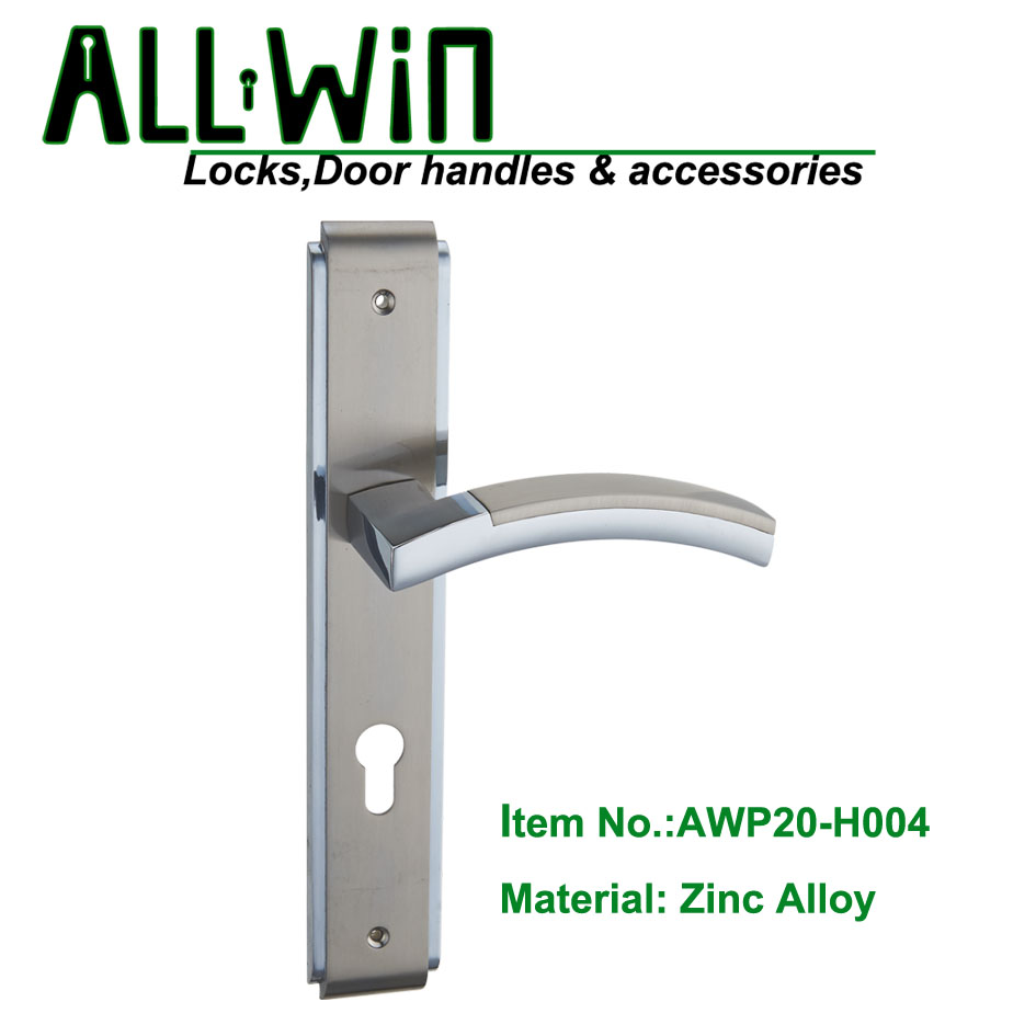 AWP20-H004 Modern Door Handle On Panel