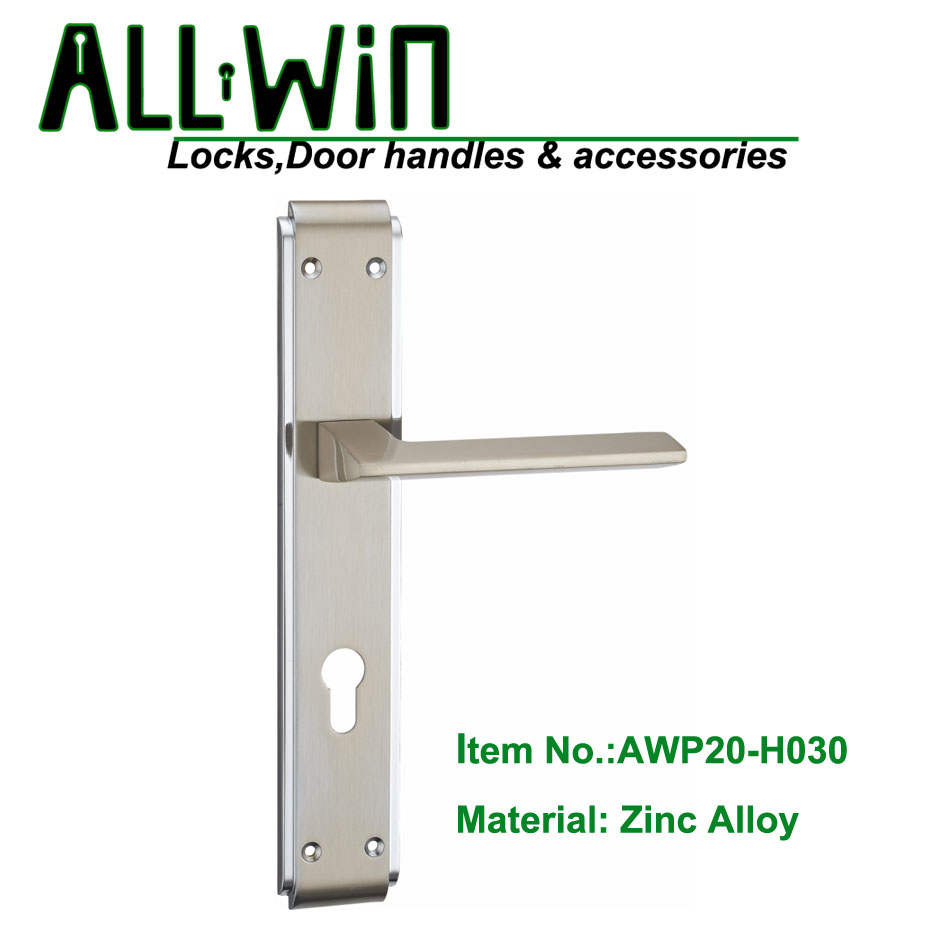 AWP20-H030 Modern Door Handle On Panel DUBAI
