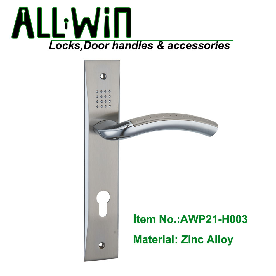 AWP21-H003 Hottest Door Handle on Plate
