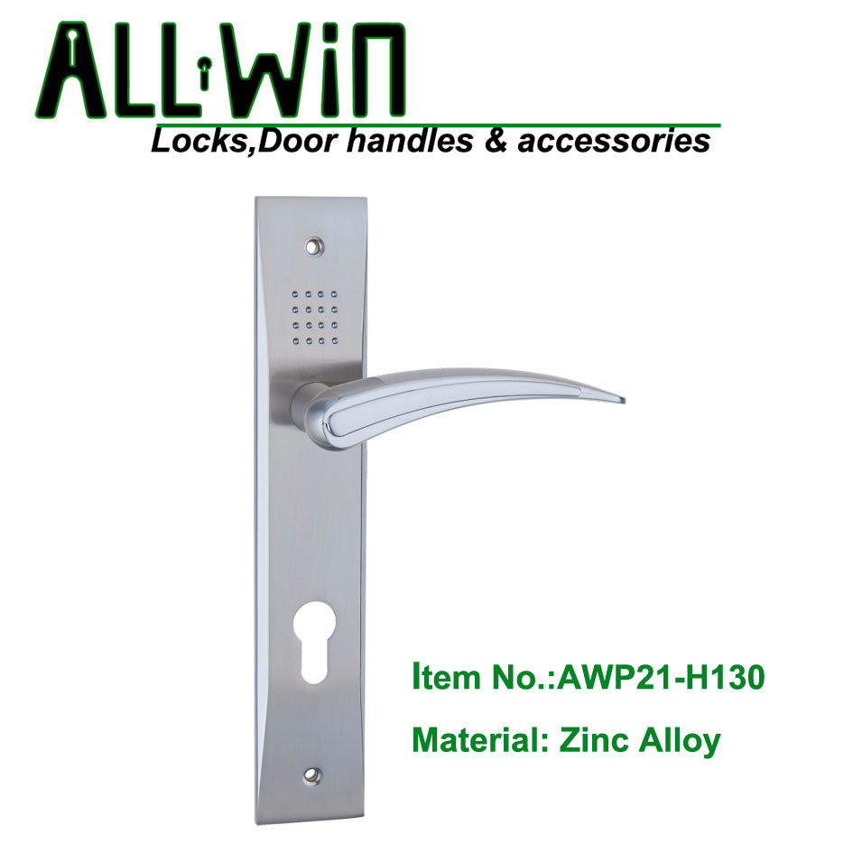 AWP21-H130 Hot Sell Door Handle on Plate