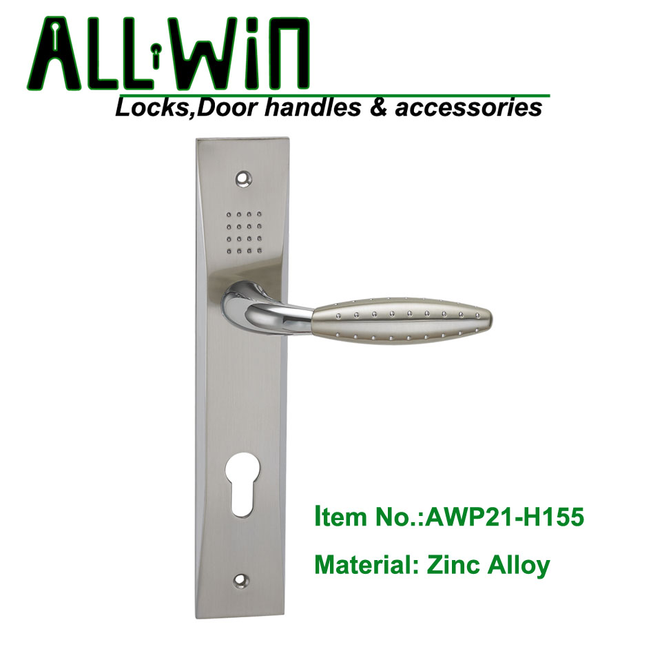 AWP21-H155 Popular Door Handle on Plate