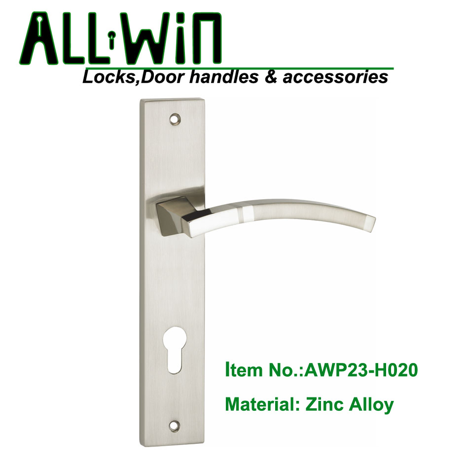 AWP23-H020 Mid east Modern Door Handle On Panel