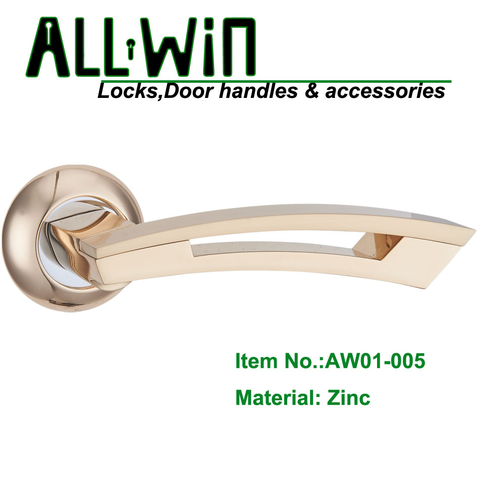 AW01-005 High Quality Zamak Door Handle