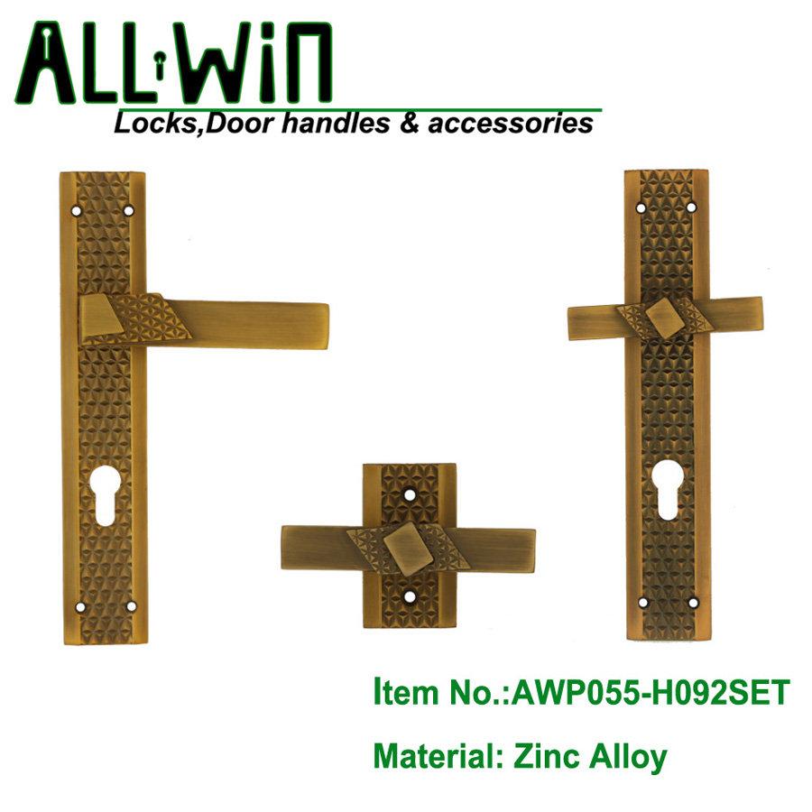 AWP055-H092SET Egypt Zinc Door Handle
