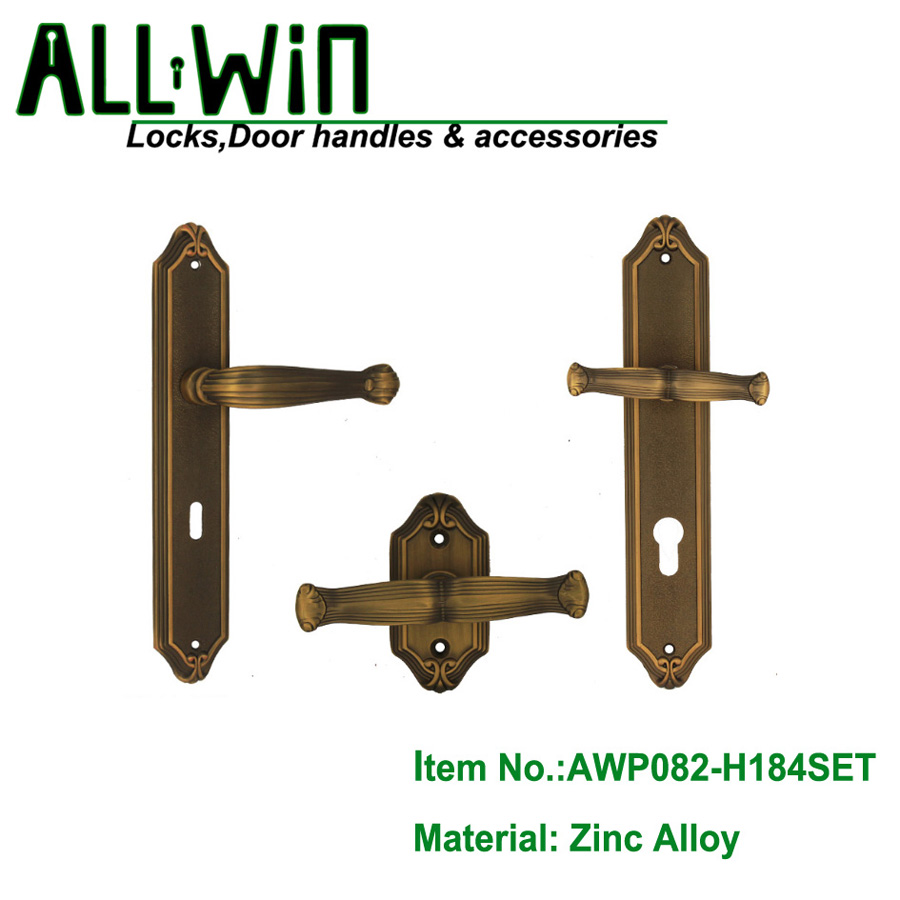 AWP082-H184SET Oversized Egypt Door Hardware