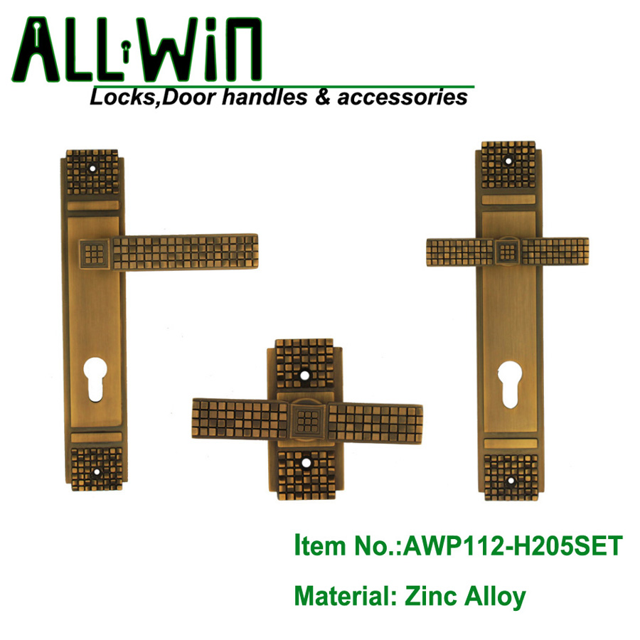 AWP112-H205SET  High Quality Egypt Door Handle