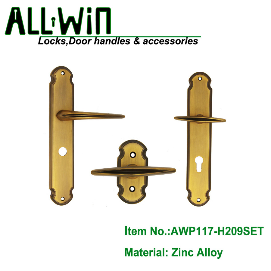 AWP117-H209SET  Best selling Egypt Door Handle