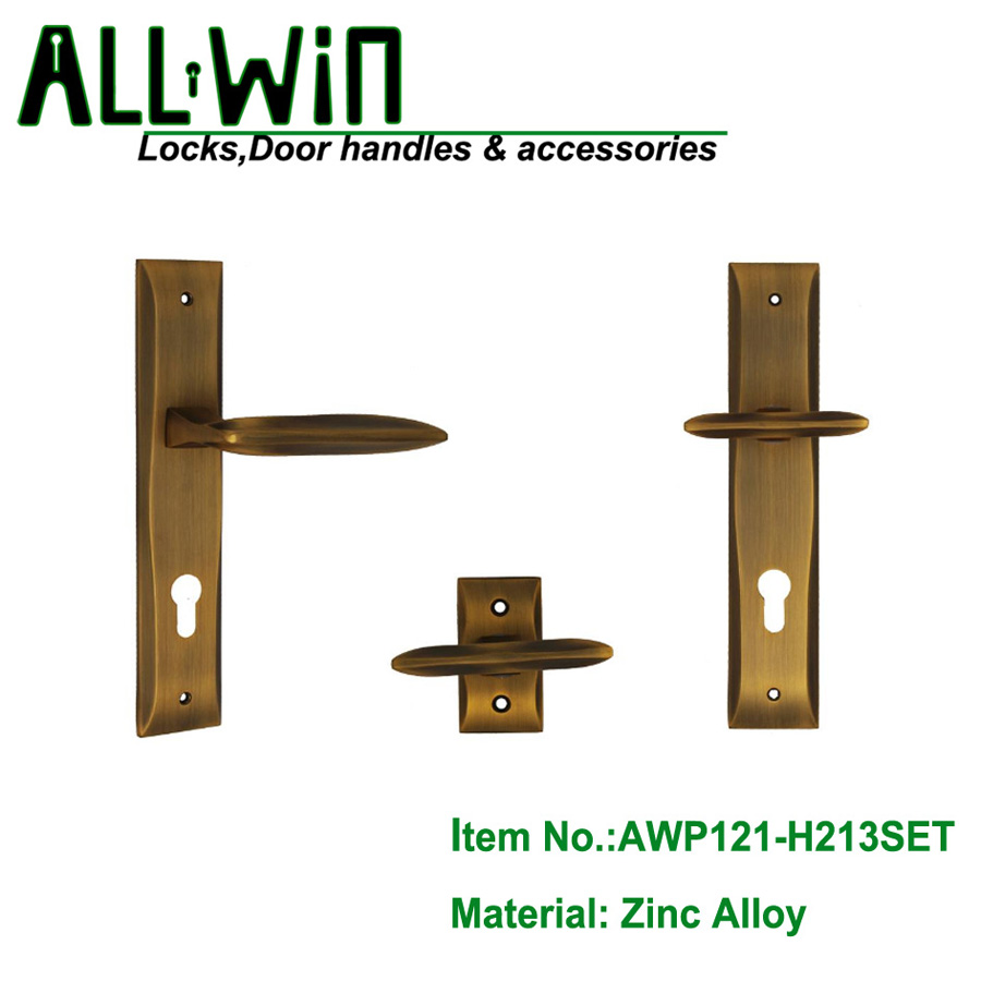 AWP121-H213SET Egypt Zinc Door Handle Factory