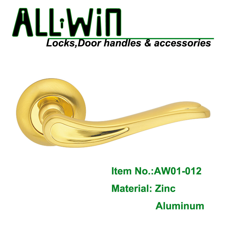AW02-012 GP Gold Interior Door Handle