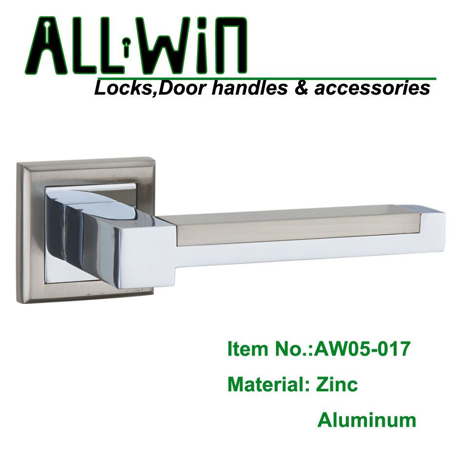 AW05-017 Square Shaped Zamak Door Handle