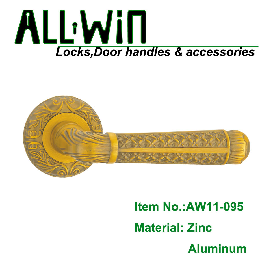 AW11-095 Polish Coffee Aluminum Door Handle