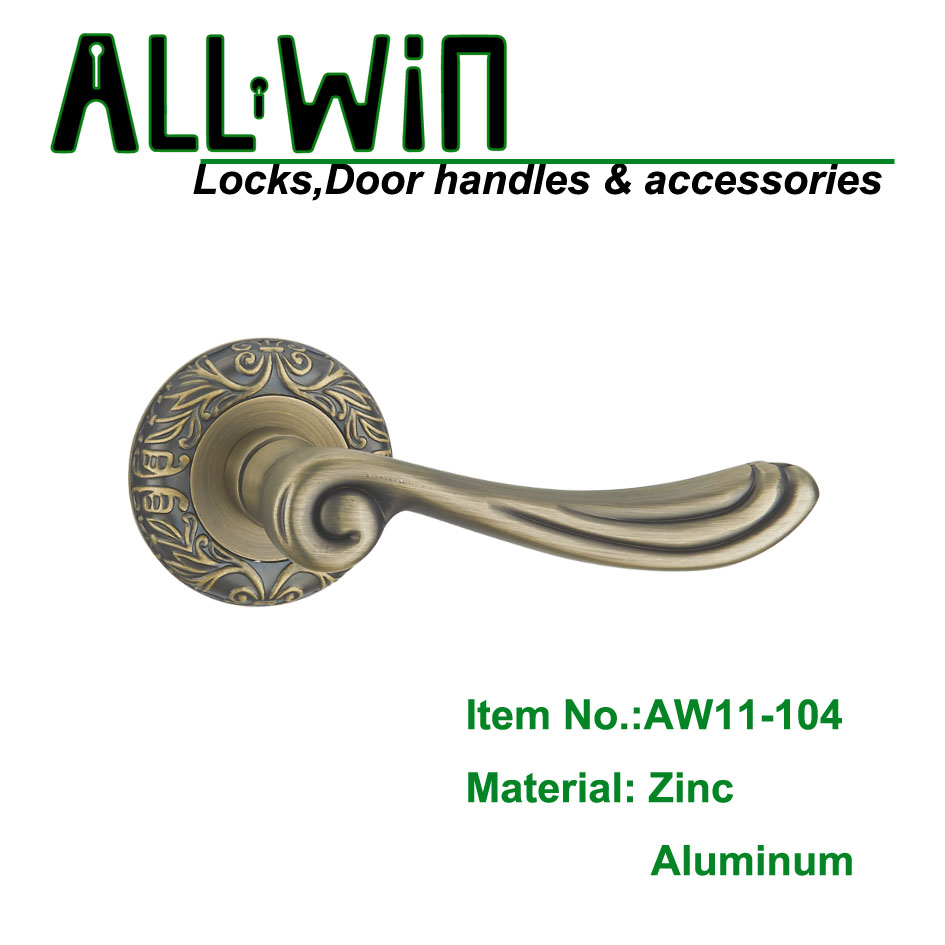 AW11-104 High Quality Ancient Aluminum Door Handle